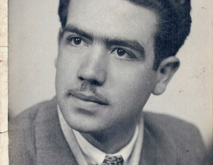 Michalis Polis in the 1950s